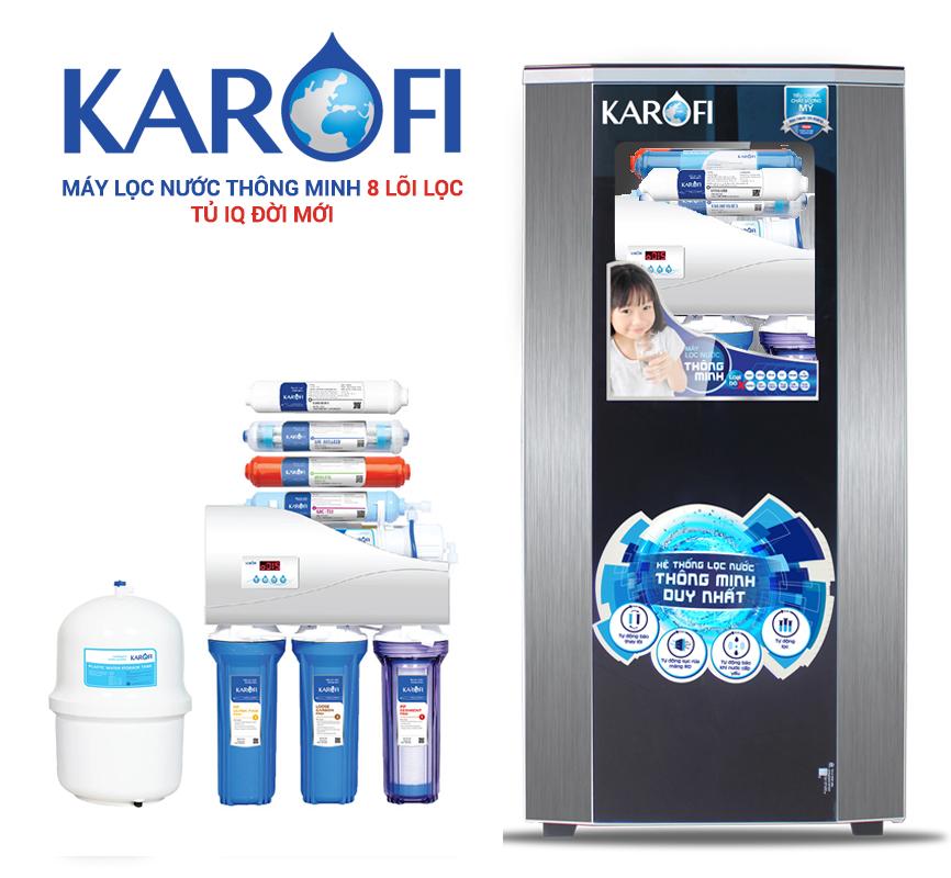 Review sản phẩm máy lọc nước karofi 8 lõi