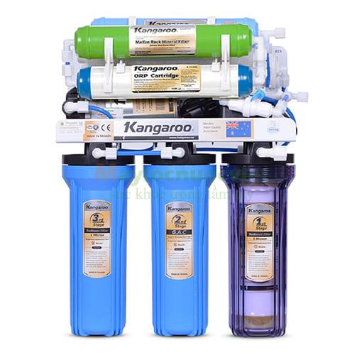 Máy lọc nước Kangaroo 8 lõi lọc KG118