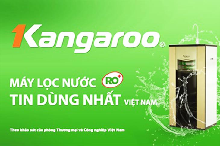 Kangaroo máy lọc nước hàng đầu tại Việt Nam