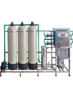 Dây chuyền lọc nước tinh khiết RO 500L/H