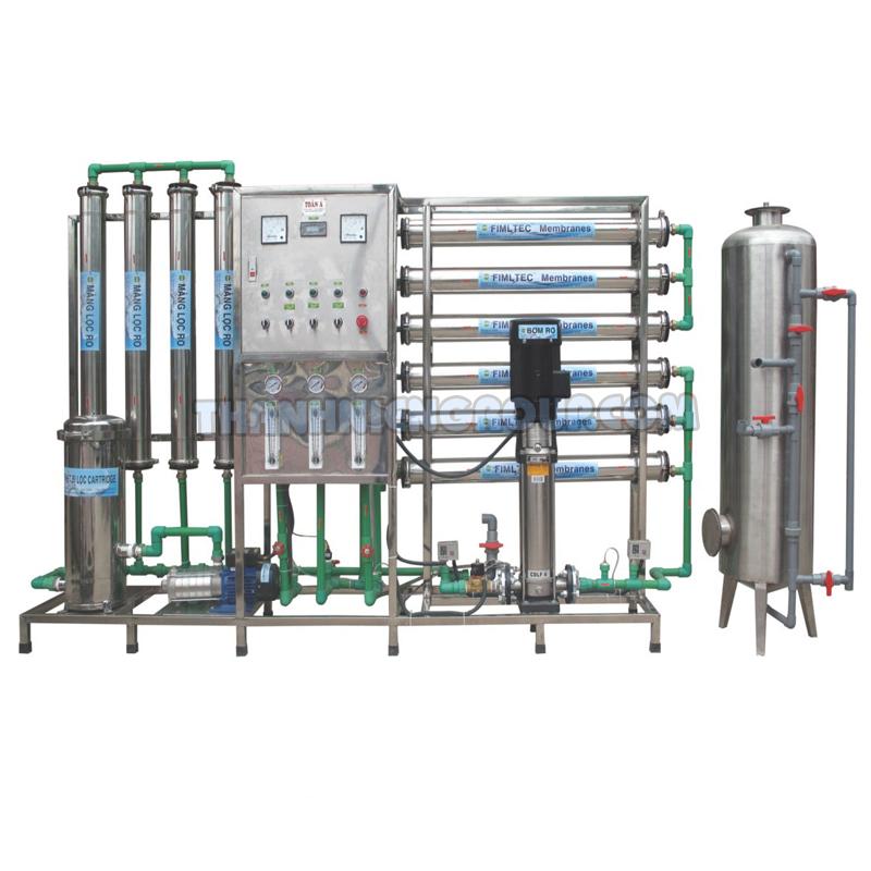 Hệ thống lọc nước chất lượng tinh khiết của RO