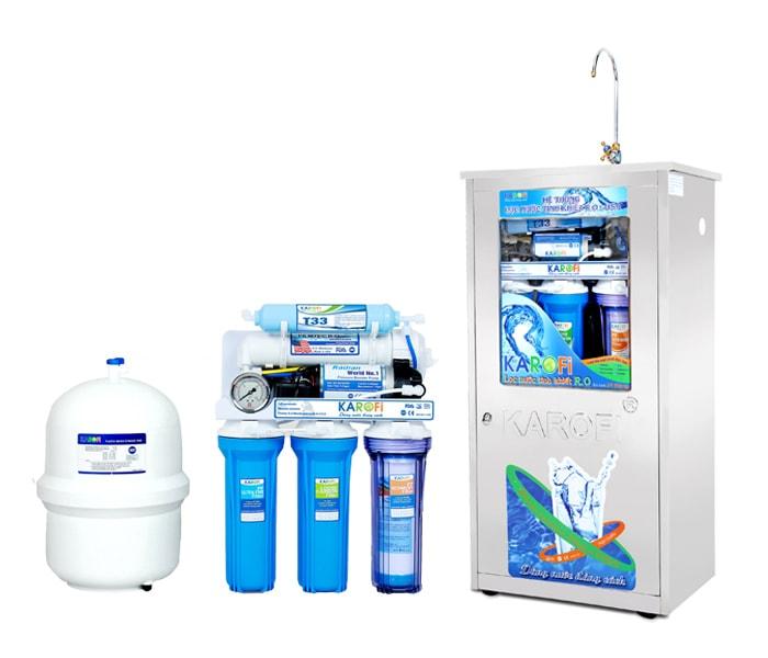 Chúng tôi là nhà phân phối máy lọc nước gia đình Karofi chính hãng