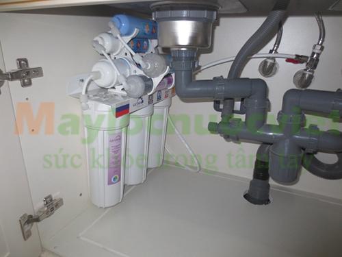 Máy lọc nước Nano geyser DL8 ( 8 cấp lọc)
