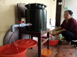 Hệ thống lọc nước nano được lắp đặt thí điểm tại nhà một hộ dân ở xã Tân Thông Hội, huyện Củ Chi.Hệ thống lọc nước nano được lắp đặt thí điểm tại nhà một hộ dân ở xã Tân Thông Hội, huyện Củ Chi.