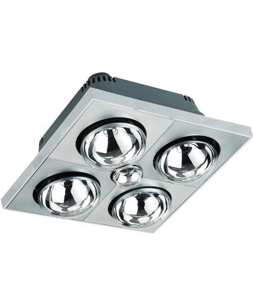 Đèn sưởi nhà tắm 4 bóng Kottmann K4B-S Bạc