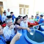 Trung ương Đoàn Bến Tre tổ chức tặng máy lọc nước