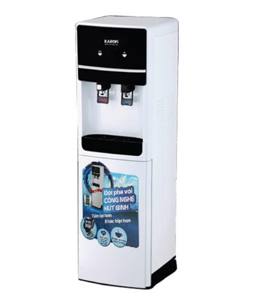 Cây nước nóng lạnh hút bình Karofi HC02