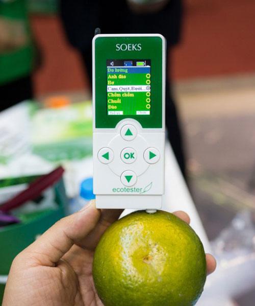 Máy đo kiểm tra độc tố trong thực phẩm ( dư lượng Nitrat) Soeks
