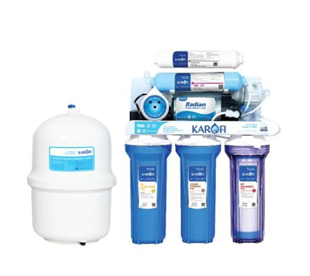 Máy lọc nước SRO nhãn hiệu mới Karofi