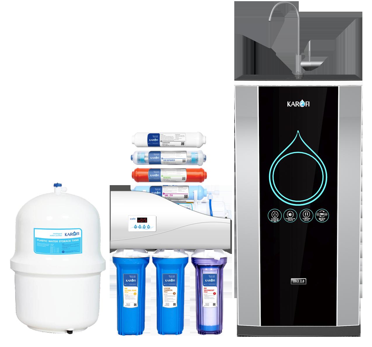 Nên mua máy lọc nước karofi RO hay Nano