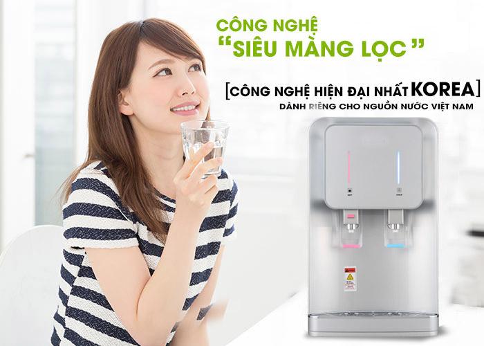 sản phẩm máy lọc nước nóng lạnh