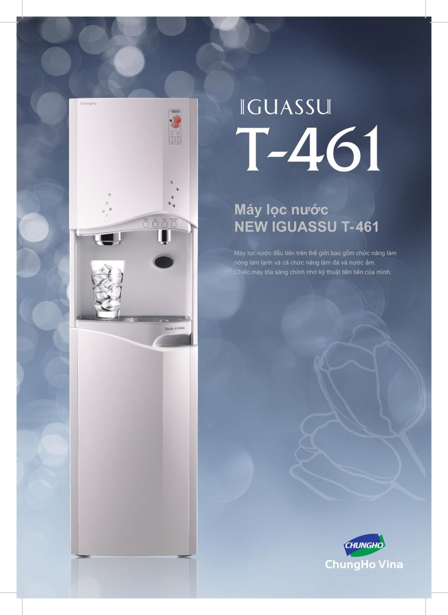 Máy lọc nước nóng lạnh và tạo đá Chungho IGUASSU T-461 CHP-5170S