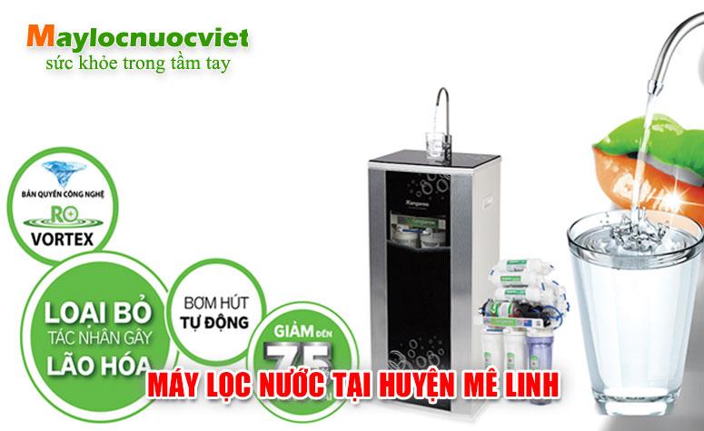 Máy lọc nước tại Huyện Mê Linh