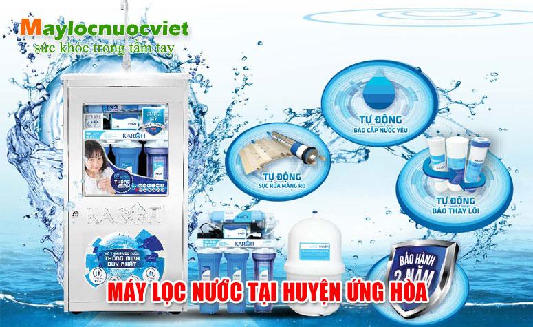 Máy lọc nước tại Huyện Ứng Hoà