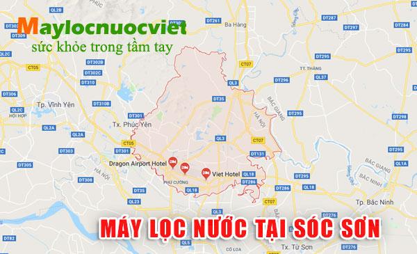 Máy lọc nước tại Huyện Sóc Sơn