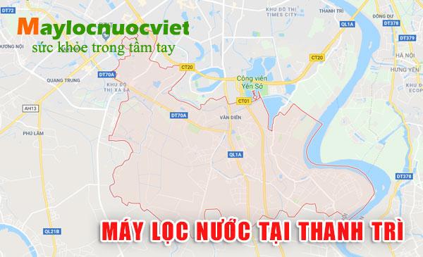 Máy lọc nước tại Huyện Thanh Trì