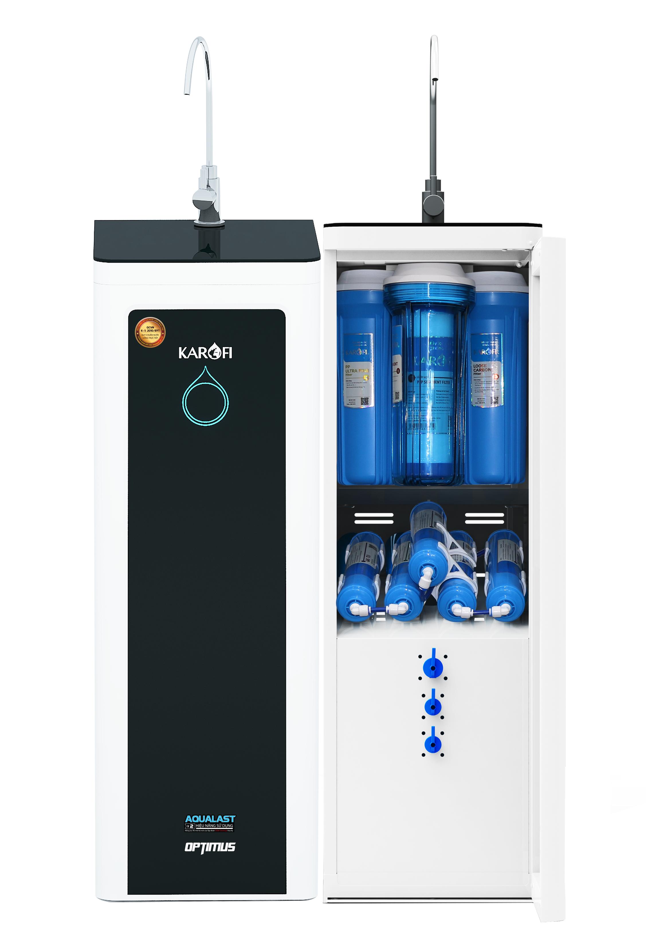 Máy lọc nước Karofi Optimus