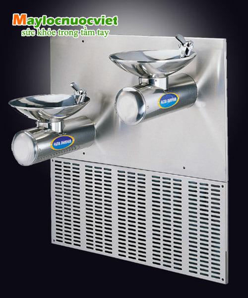 Máy lọc nước công cộng bồn đôi và có đầu vòi phía trên Buder BD-3017