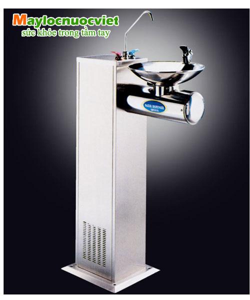 Máy lọc nước công cộng một bồn tròn và có vòi phía trên Buder BD-3012