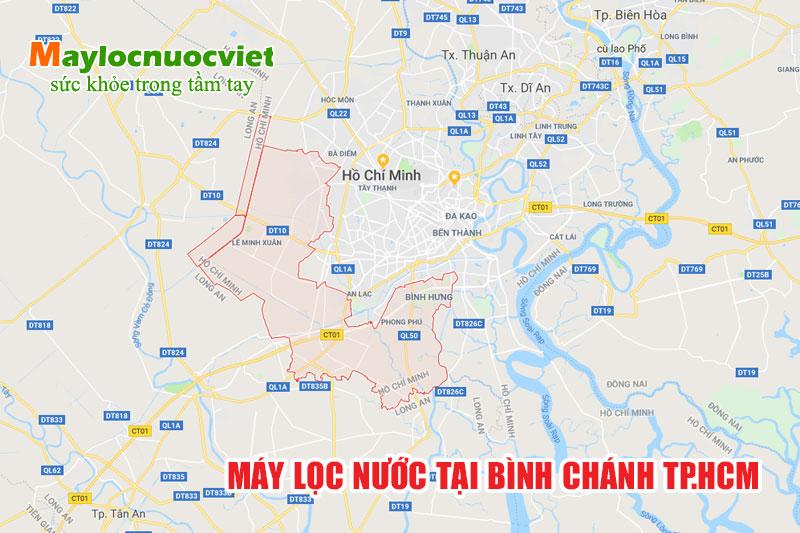 Máy lọc nước Huyện Bình Chánh tại TP.HCM