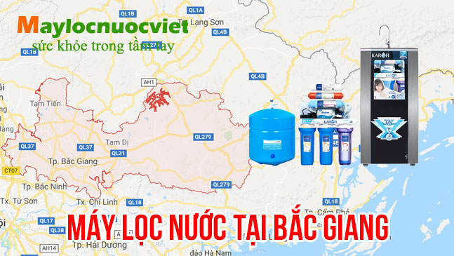 Máy lọc nước tại Bắc Giang - Cung cấp máy lọc nước Kangaroo tỉnh Bắc Giang