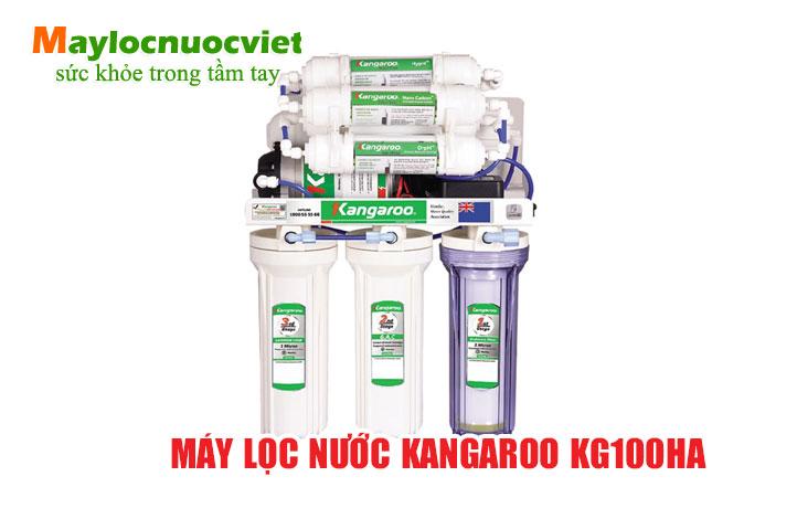 Máy lọc nước kangaroo kg100ha