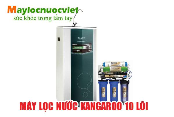 Máy lọc nước kangaroo 10 lõi