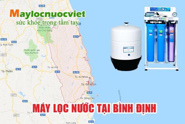 Máy lọc nước tại Bình Định - Cung cấp máy lọc nước tỉnh Bình Định