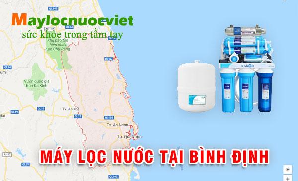 y lọc nước tại Bình Định