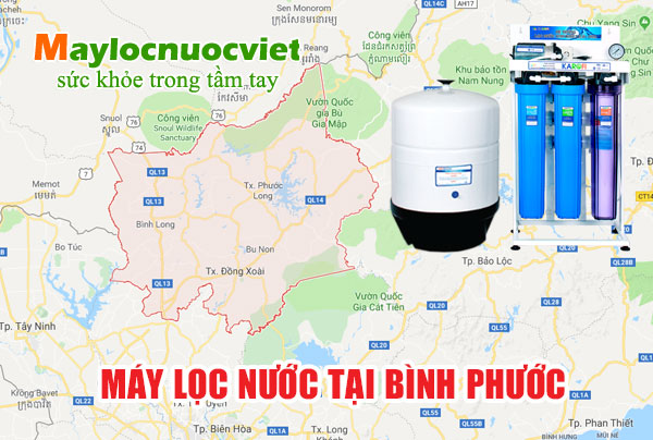Máy lọc nước tại Bình Phước