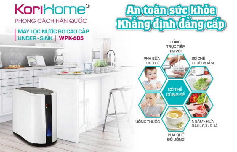 Cách chọn mua máy lọc nước Korihome Uy Tín tại Hà Nội