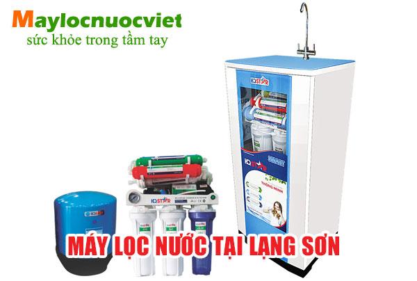 Máy lọc nước tại Lạng Sơn - Máy lọc nước nano Lạng Sơn