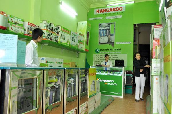 Địa chỉ bán máy lọc nước Kangaroo