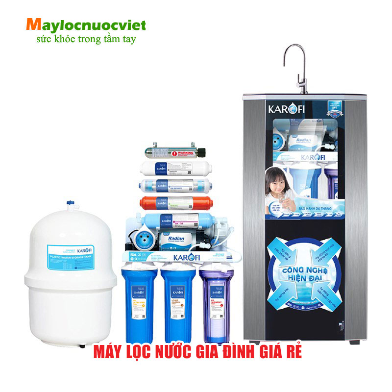Máy lọc nước karofi gia đình giá rẻ