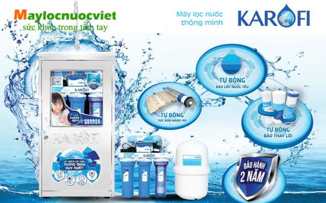 Máy lọc nước Karofi là gì? Đại lý phân phối Máy lọc nước Karofi