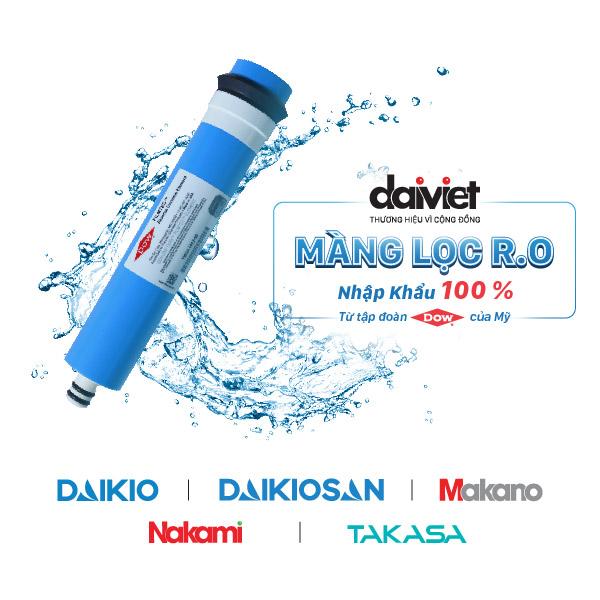 Máy lọc nước Daikio RO cao cấp nóng lạnh DKW-09C