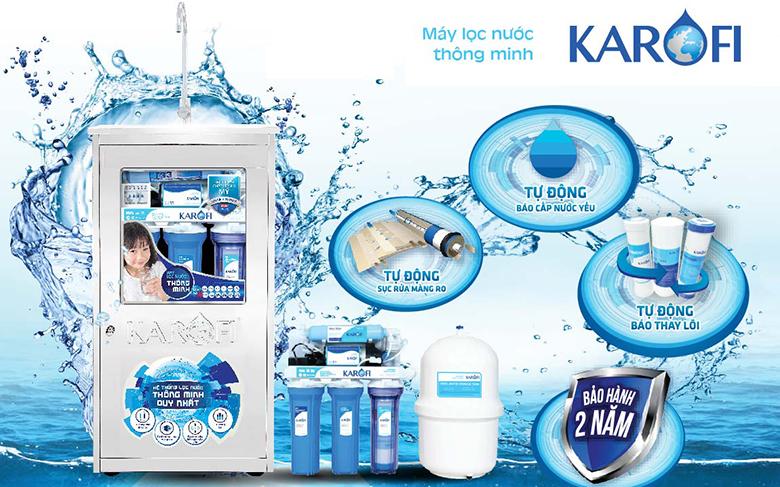 Máy lọc nước karofi là của nước nào sản xuất?