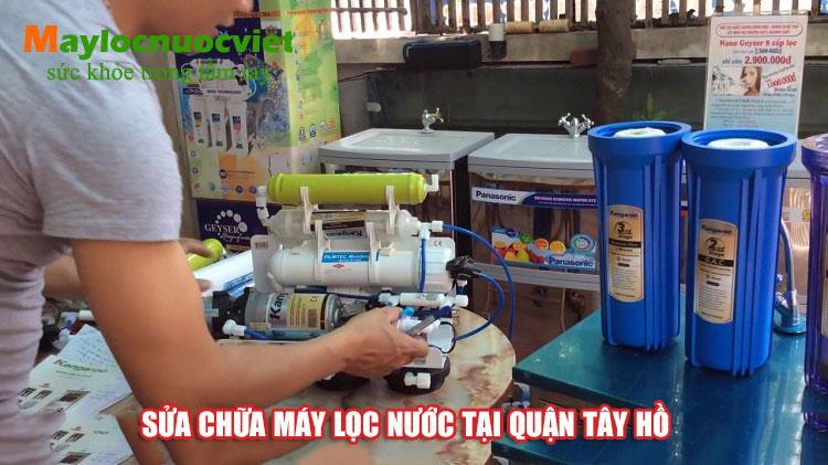 Sửa chữa máy lọc nước tại Quận Tây Hồ