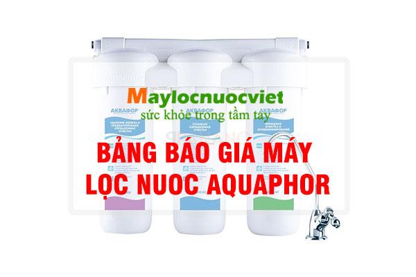 Bảng Báo Giá Aquaphor
