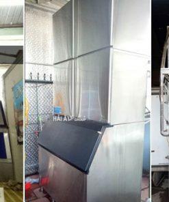 Hình ảnh thực tế Kỹ thuật viên Hải Âu lắp ráp máy HA 900 cho khách hàng