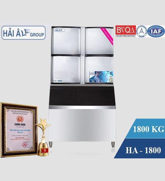 Máy Làm Đá Viên Hải Âu HA 1800 Tiêu Chuẩn ISO 2015