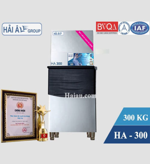 Máy làm đá Hải Âu HA 300: Đạt chuẩn chất lượng ứng dụng tại châu Âu