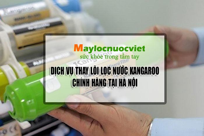 Thay lõi lọc nước Kangaroo chính hãng tại Hà Nội