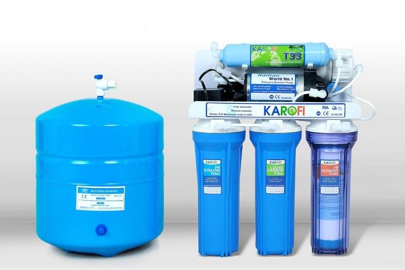 máy lọc nước RO giá rẻ Karofi K5