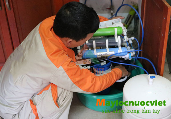 Do van từ máy lọc nước nước karofi bị hỏng