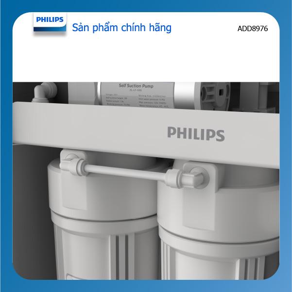 Máy lọc nước RO Alkaline + diệt khuẩn UV Philips ADD8976